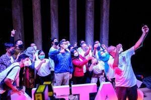 Nemuin Komunitas bersama Menparekraf Sandiaga Uno di Yogyakarta